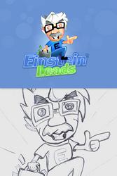 Einstein leads logo by sm0kiii