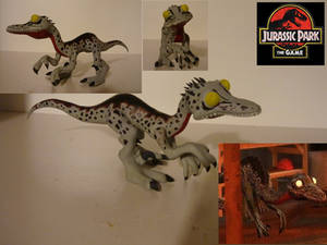 Jurassic Park Troodon Sculpture by BallBots