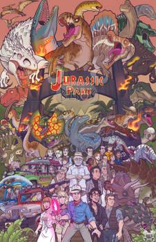 Jurassic Park Poster