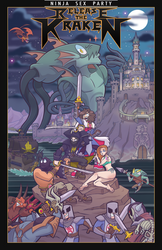 Ninja Sex Party - Release the Kraken by BallBots