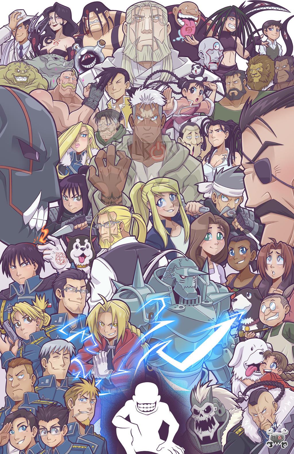 View Fullmetal Alchemist Brotherhood Official Poster Pics