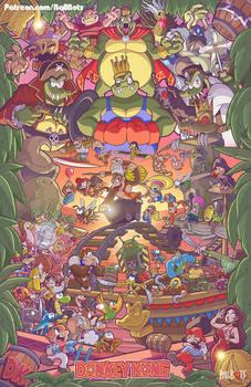 Donkey Kong Tribute Poster