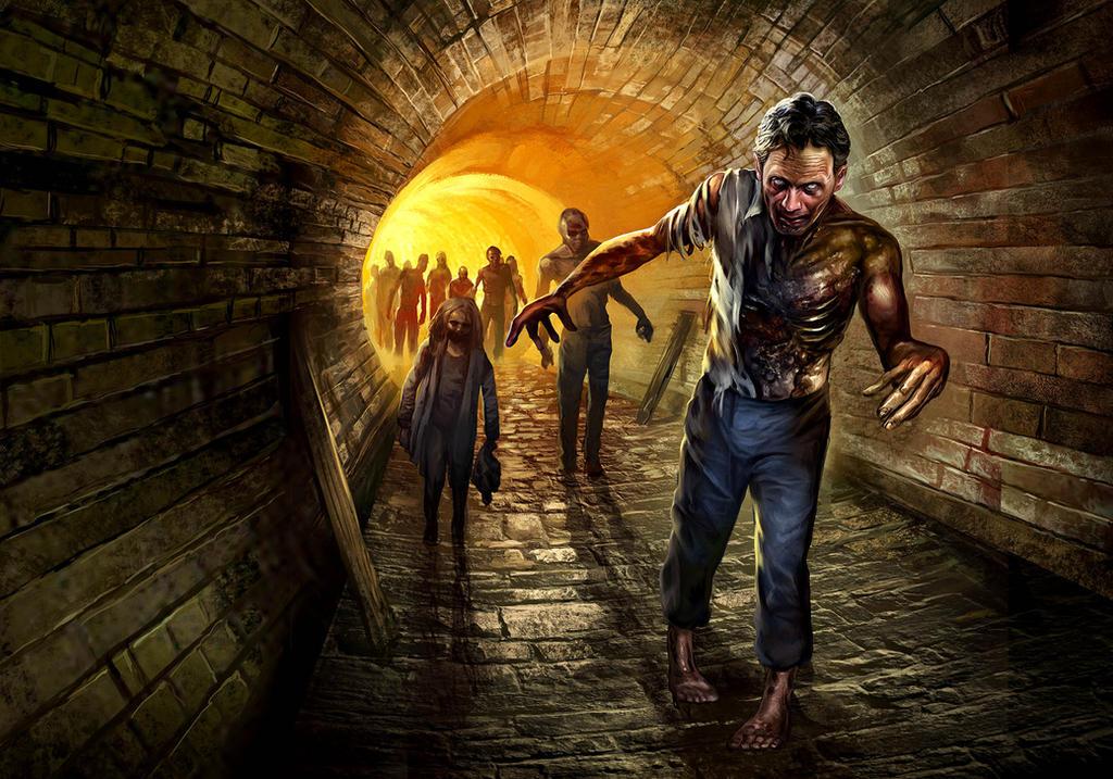Walking Dead: Descent by Blik1976