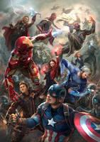 Avengers: Age of Ultron Fanart by chanlien