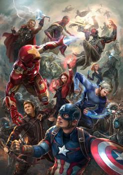 Avengers: Age of Ultron Fanart