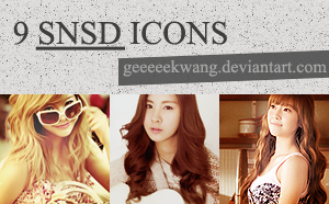 9 SNSD ICONS by Your-luv