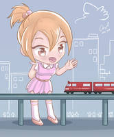 Hai train! by angelgts