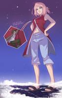 [Comm] Giga Sakura by angelgts