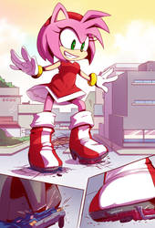 [Comm] Amy Rose - Stompy Fun