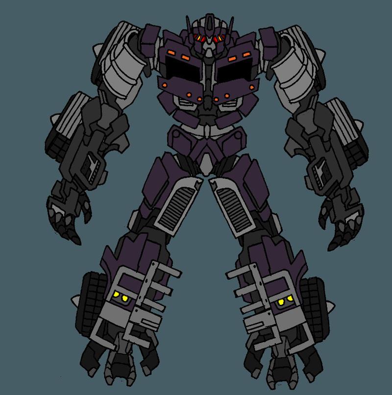 Transformers movie Motormaster by FishbugTransformers Prime Motormaster