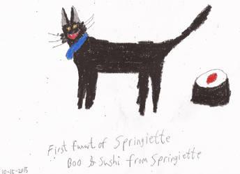 First Fanart of Springiette by jonwii