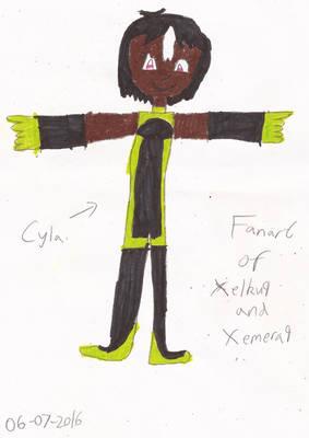Fanart of Xelku9 and Xemera9