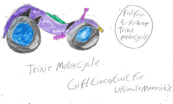 Trixie Motorcycle (Gift Concept Art)