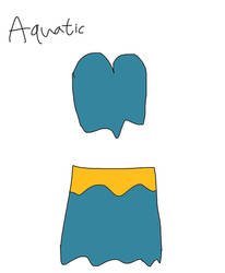 Nightwear for Aquatic (Gift Outfit) by jonwii