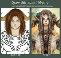Draw this again! by Gjallarhoorn