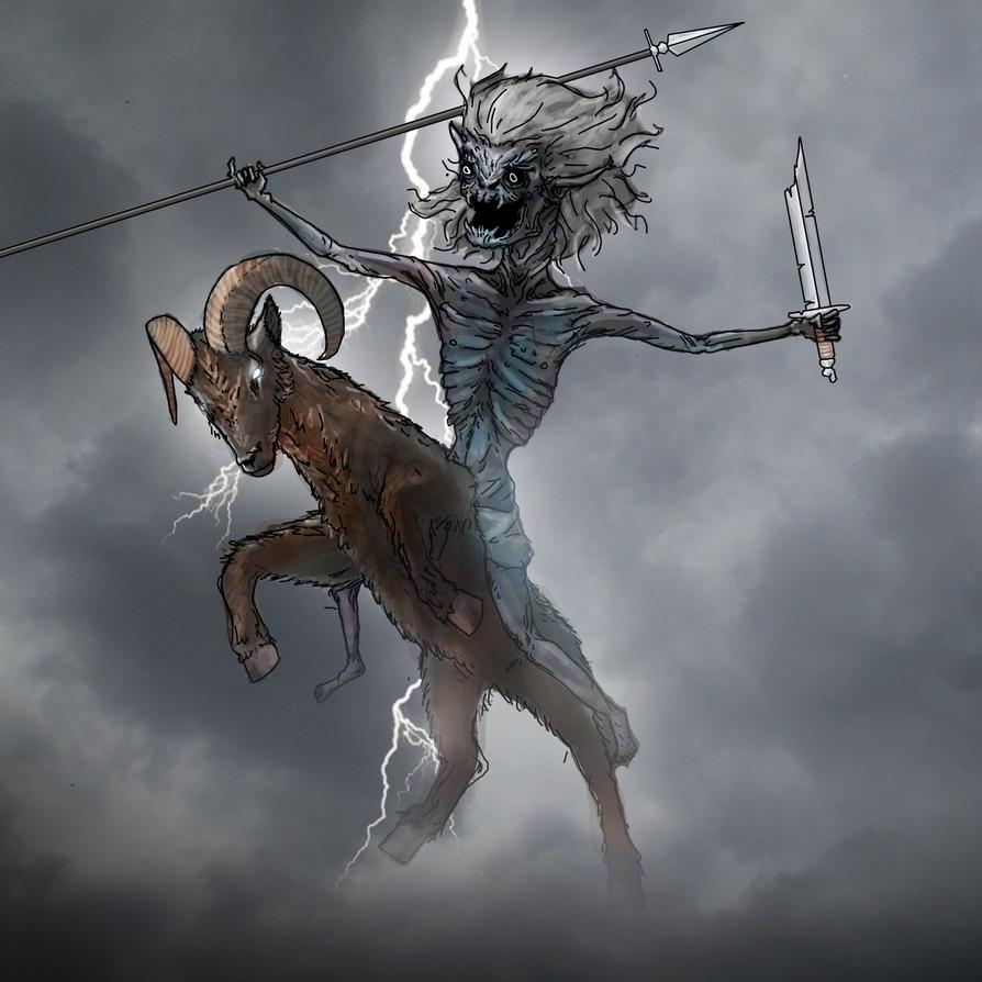 The Goatrider 1 by Gjallarhoorn