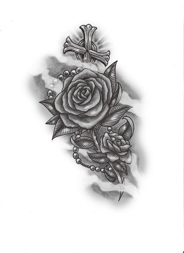 rose n rosary by konz3pt on deviantart. Black Bedroom Furniture Sets. Home Design Ideas