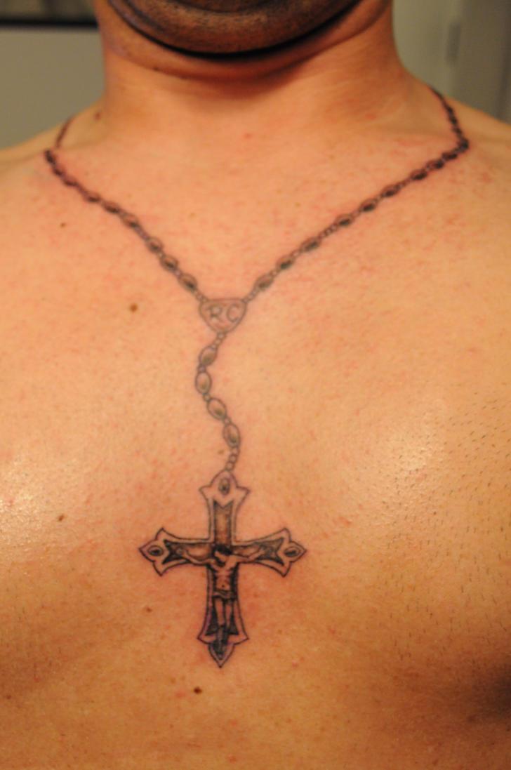 rosary tattoo by konz3pt on deviantart. Black Bedroom Furniture Sets. Home Design Ideas