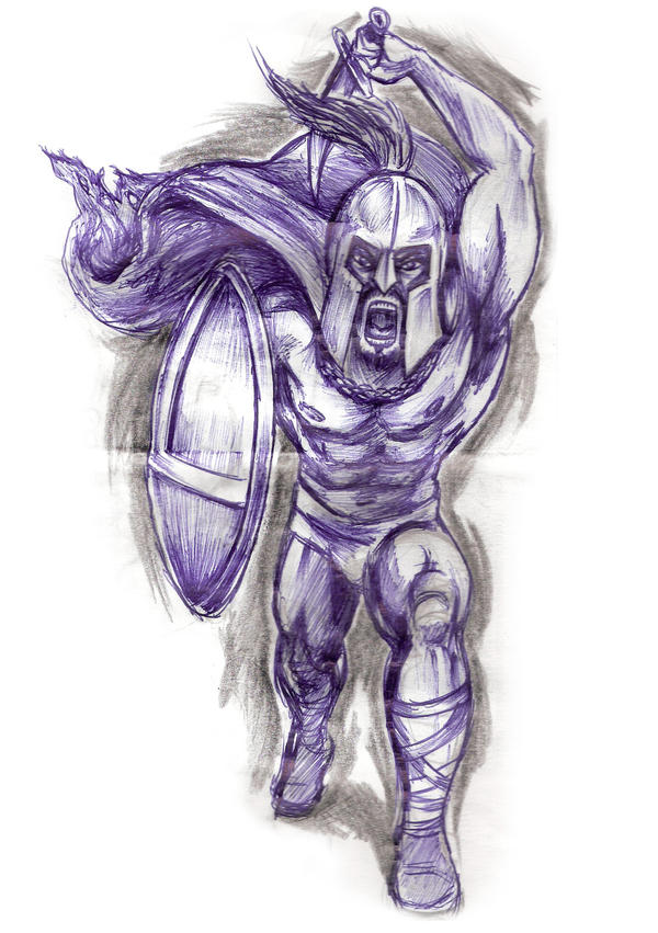 sparta tattoo study by ~konZ3pt on deviantART
