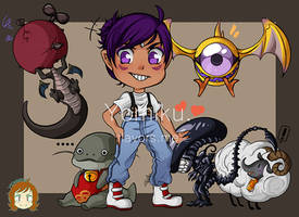FFXIV Commission: Hashi And Her Minions