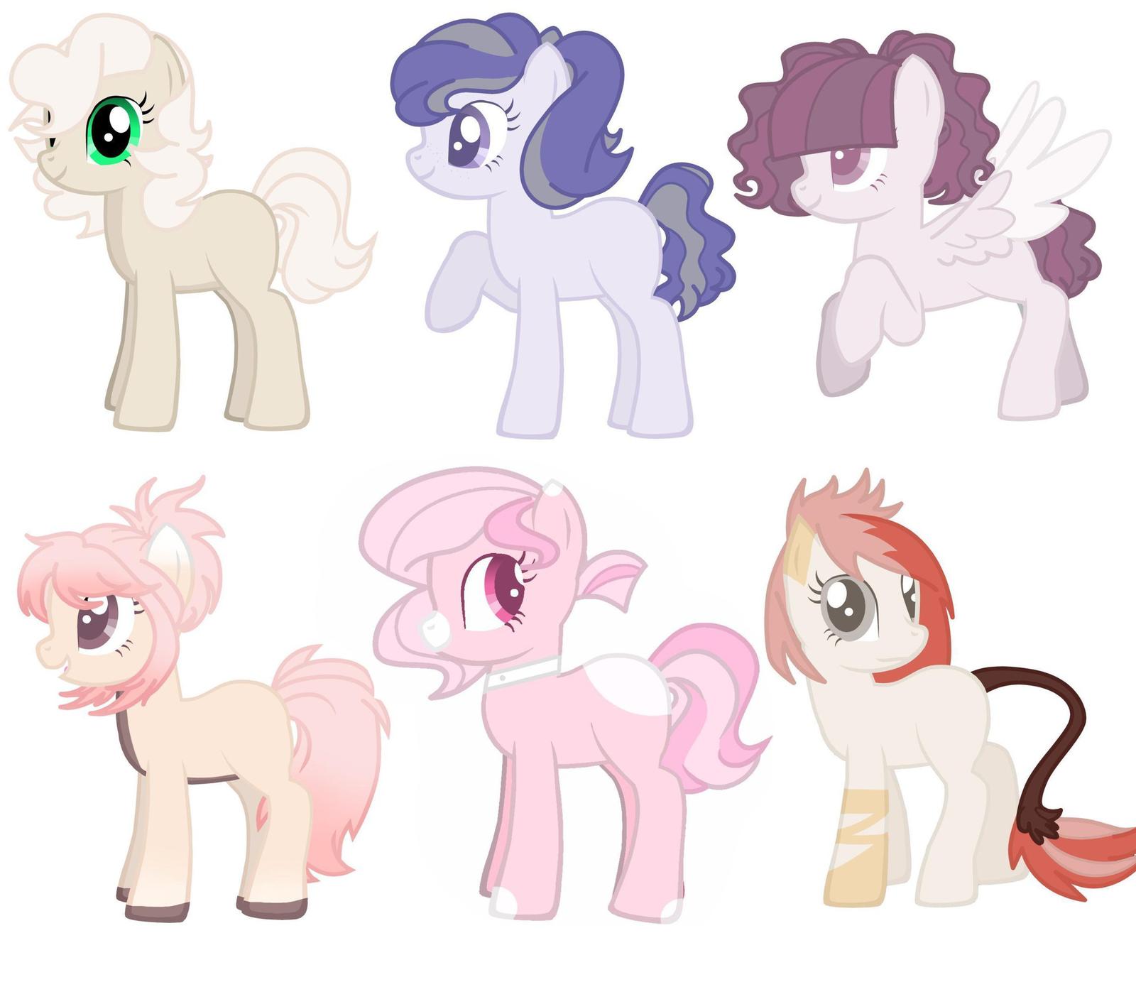 Причёски для пони из креатора