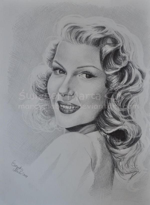 Rita Hayworth by Marcysiabush