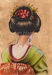 Midori kimono desu by Marcysiabush
