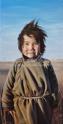 Happy Mongoly Girl by Marcysiabush