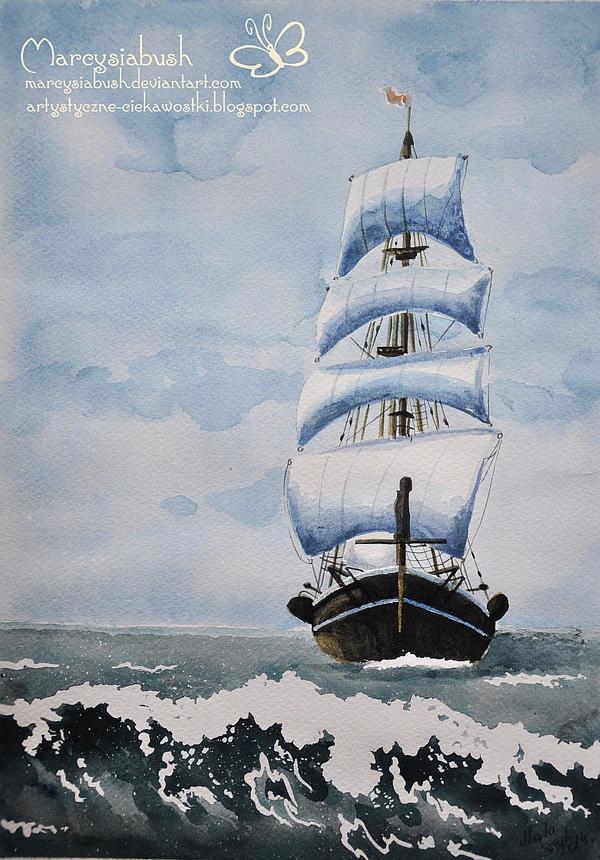 On the Sea by Marcysiabush