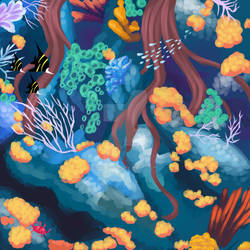 [Elnin] Regional Scenery Ealei Coral