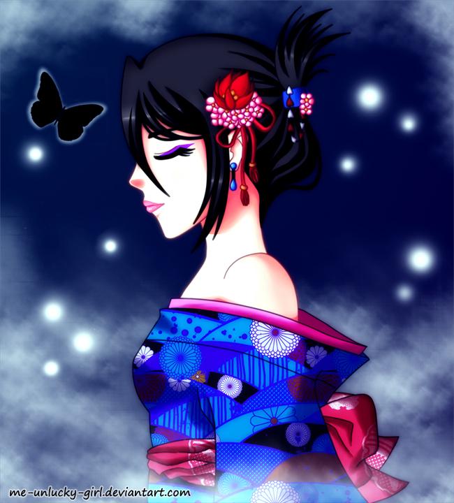 Practice - Rukia by Me-Unlucky-Girl