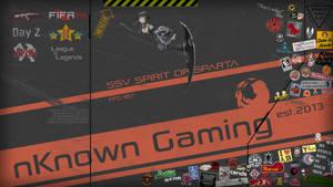 nKnown Gaming Wallpaper - Black Version