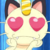Meowth Love by Veritis