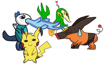 Drawing request 4 pokemonlpsfan by EnderCreeper-18