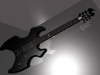 ESP Ltd AX-50 guitar in black by The-Commissar