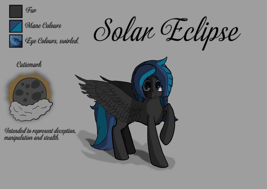 Solar Eclipse Pony Version by Littlepony115