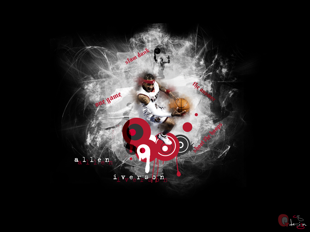 Allen Iverson Crossover Wallpaper The Answer