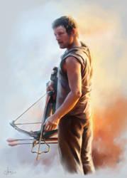 Daryl Dixon by Syllirium