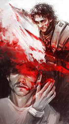 Crimson suits you... by Syllirium
