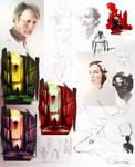 Hannibal sketch-doodle-wip dump...