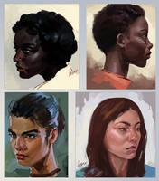 Face Studies 1