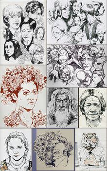 Inktober 2020 Sketches