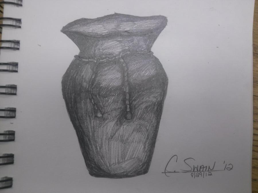 Life Drawing Of Vase By Aeroskye On Deviantart