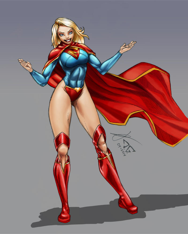 Colours: Supergirl by Dawnhammer