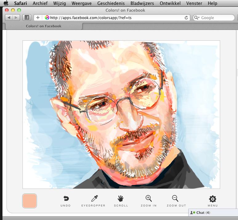 Steve Jobs by madwurmz