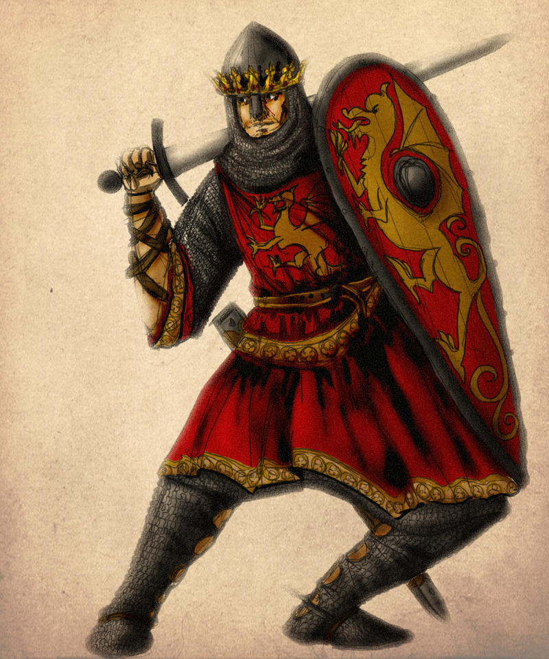 Uther the Conqueror by InfernalFinn