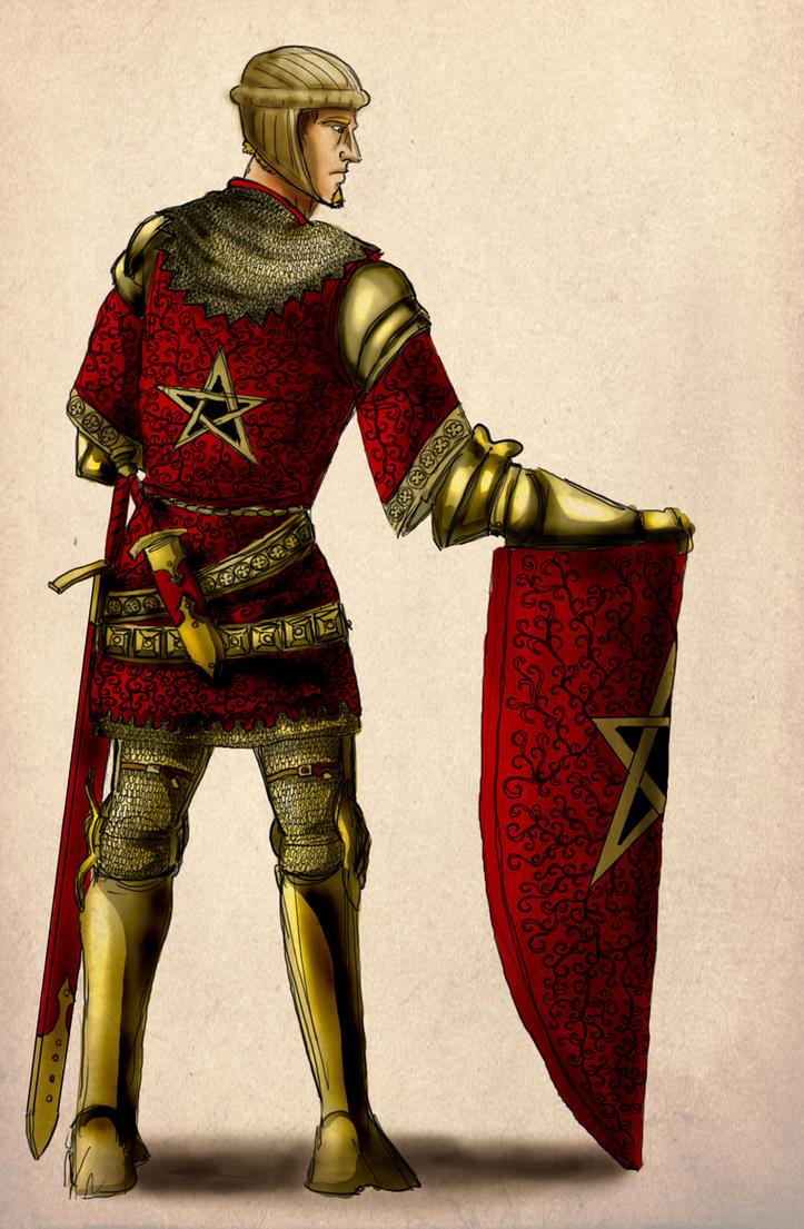 Gawain and the Green Knight by InfernalFinn