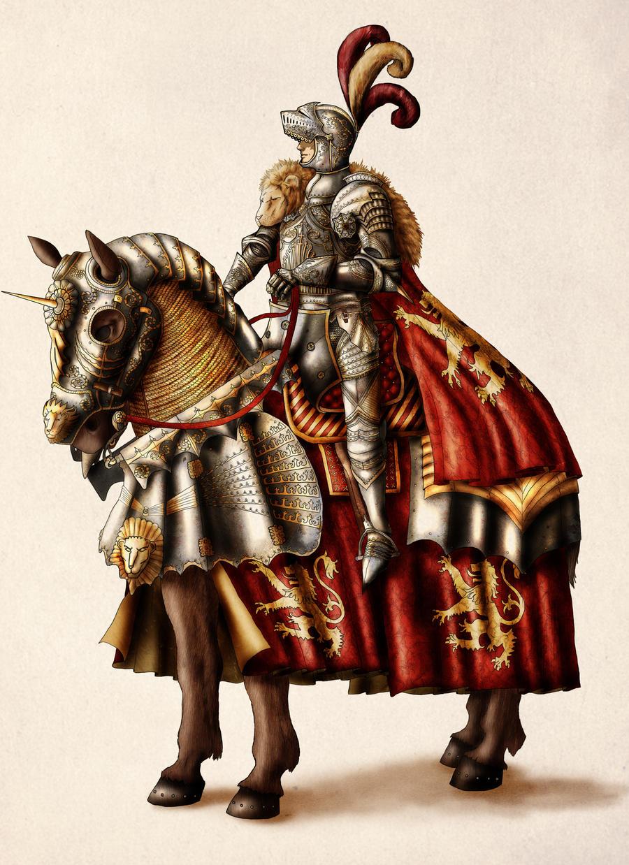 The Lion of Lannister by InfernalFinn