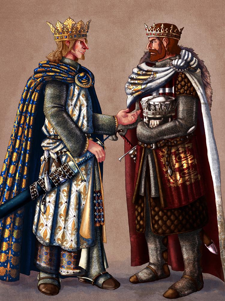 Philip and Richard by InfernalFinn
