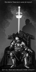 Stannis Enthroned by InfernalFinn